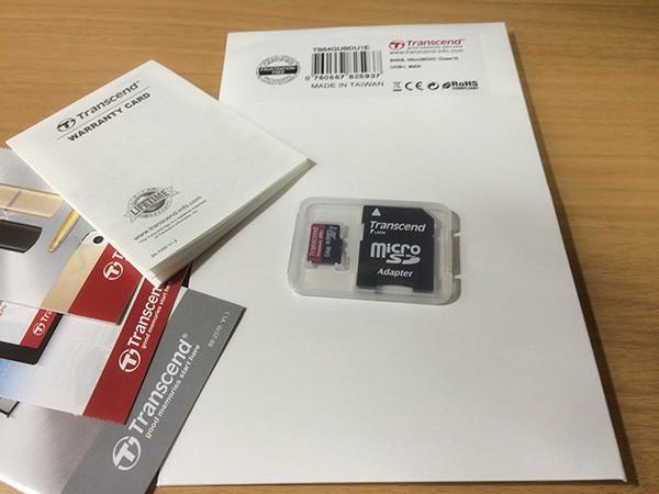 Transcend micro SDXCカード 64GB