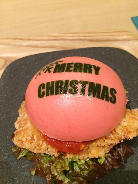 クリスマスバーガー