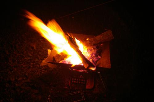 フォレストパークあだたら焚き火2