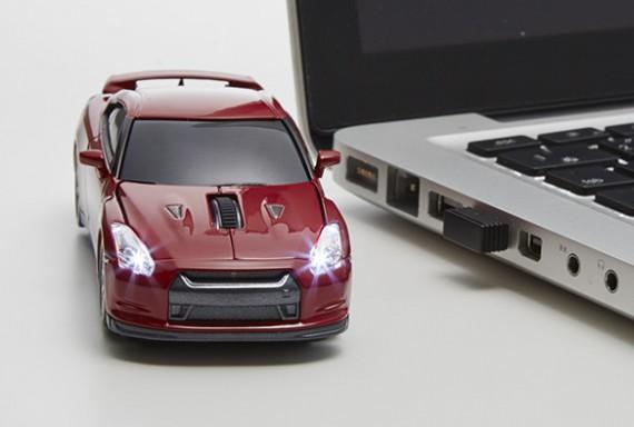 NISSAN GT-R ワイヤレスマウス