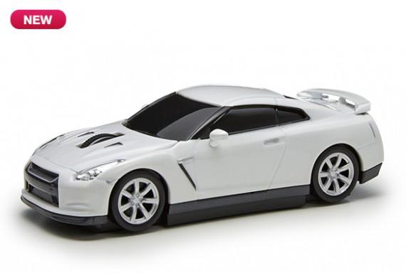 NISSAN GT-R ワイヤレスマウス ホワイト