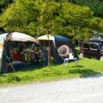 キャンプとクルマ