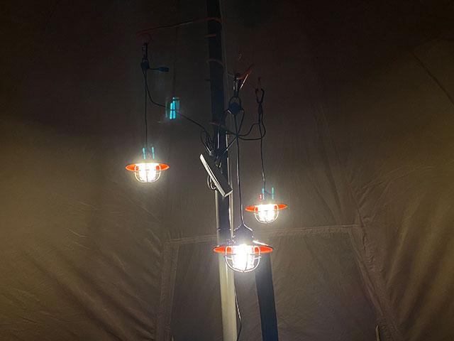 ベアボーンズ エジソンペンダントライトLED